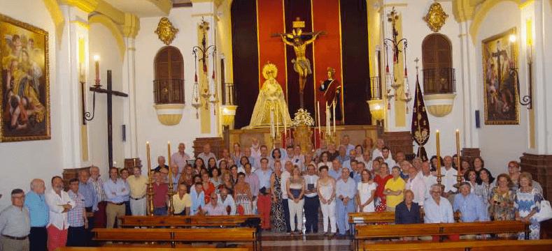 Jornada lúdica de los voluntarios en el Oratorio de la Hermandad de las Penas.